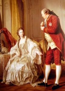 Marquis de Marigny et sa femme